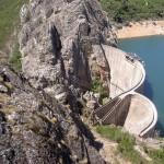 The dam at Santa Luzia