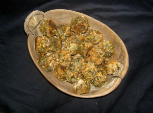 Plantain & Kefir bites - Casalinho